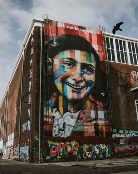 The Anne Frank Museum in Amsterdam